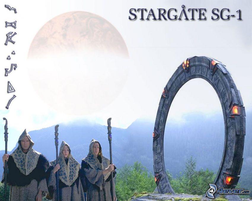 Stargate, Stargate SG-1, Jack O'Neall, Samantha Carter, Daniel Jackson, Chulak