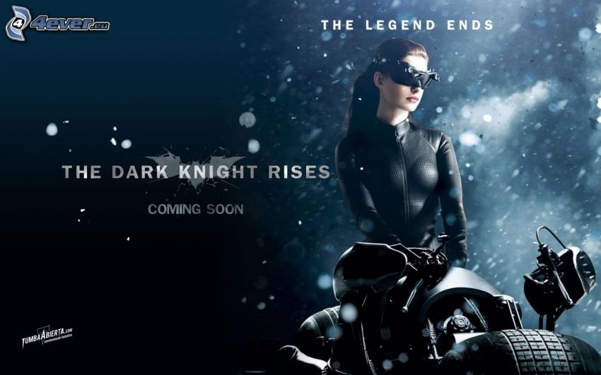 The Dark Knight, Catwoman, Anne Hathaway