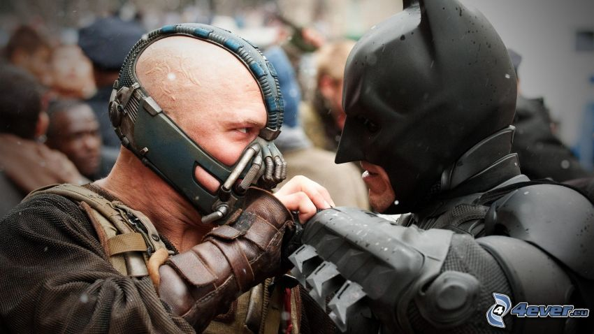 The Dark Knight Rises, Bane, Batman
