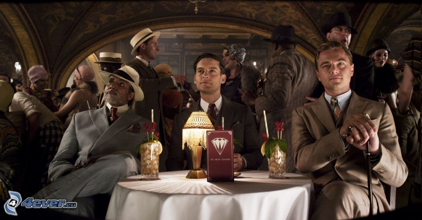 The Great Gatsby, Nick Carraway, Jay Gatsby