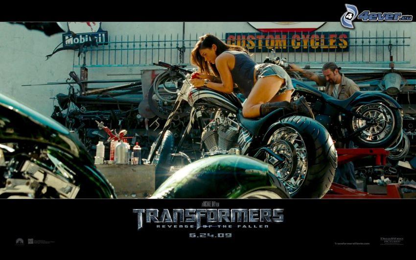 Transformers, Megan Fox, motorcyklar