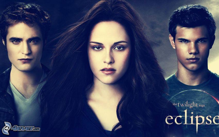 Twilight, Robert Pattinson, Kristen Stewart, Taylor Lautner