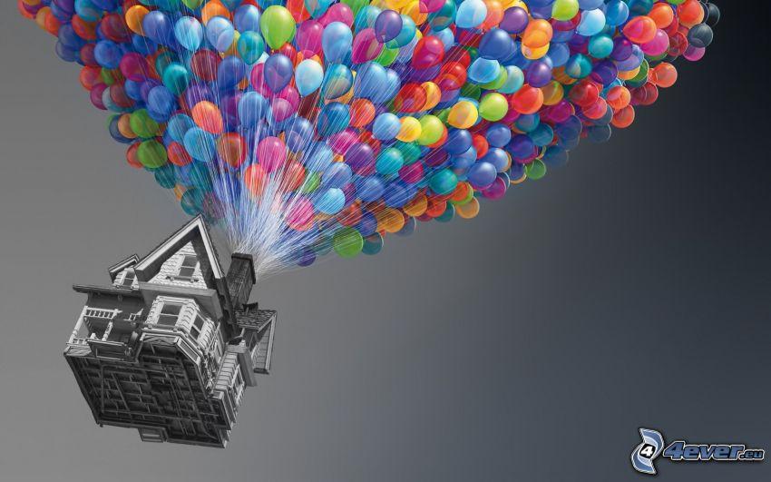 Upp, ballonger