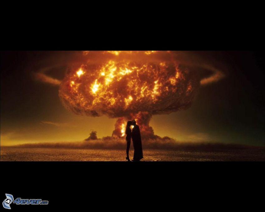Watchmen, atomexplosion