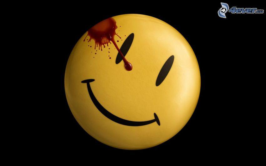 Watchmen, smiley, fläck