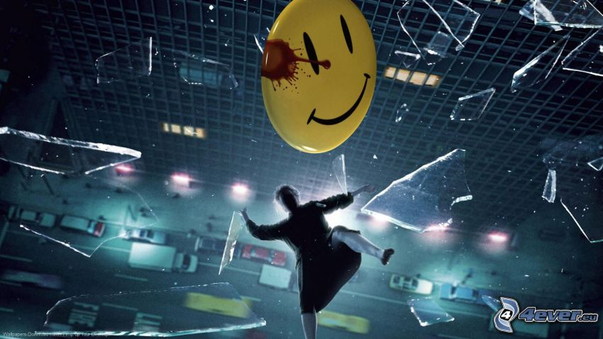Watchmen, smiley