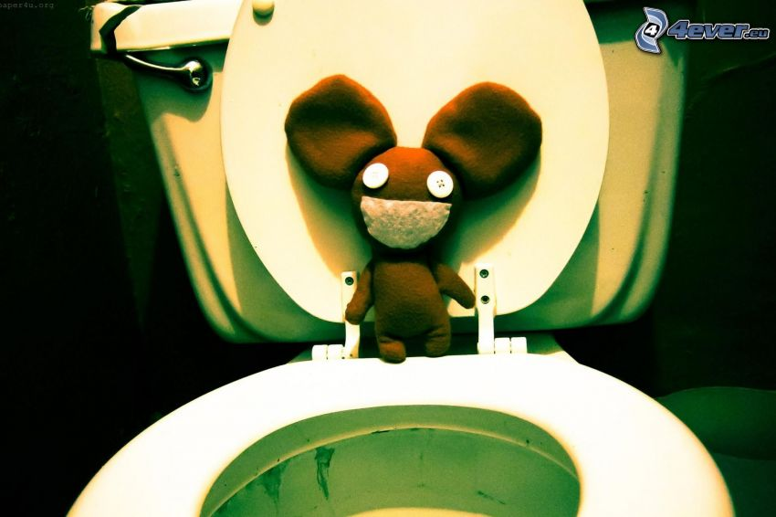 deadmau5, toalett
