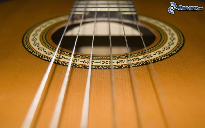 gitarr, strängar