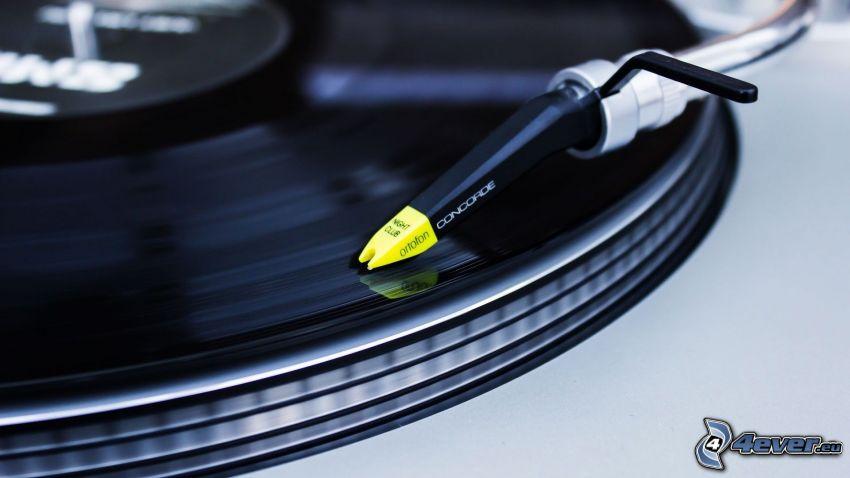 grammofon, LP-skiva