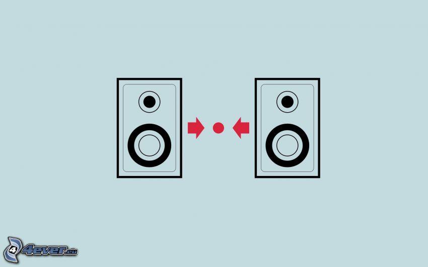 högtalare