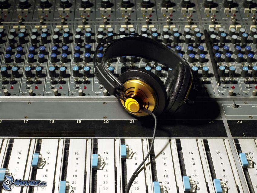 hörlurar, DJ Mixer