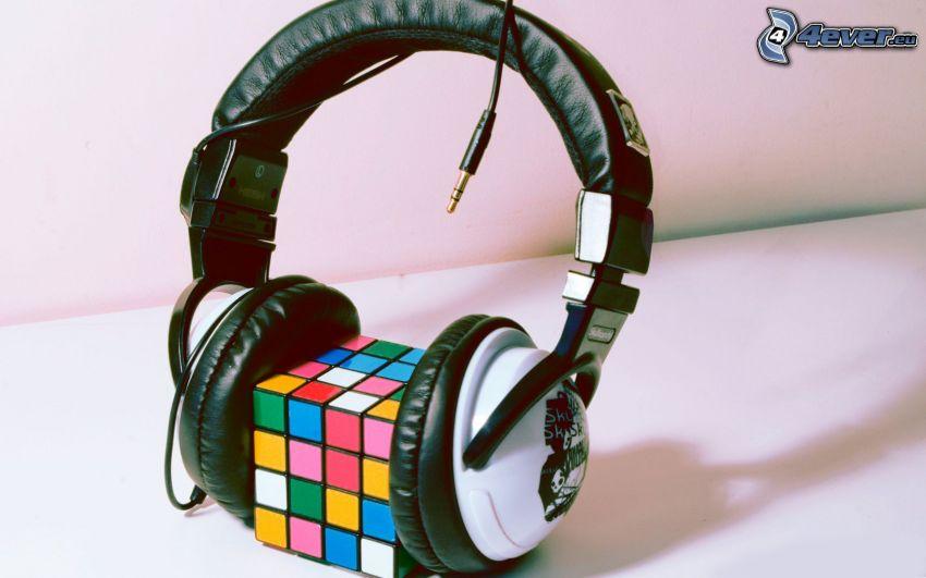 hörlurar, Rubiks kub