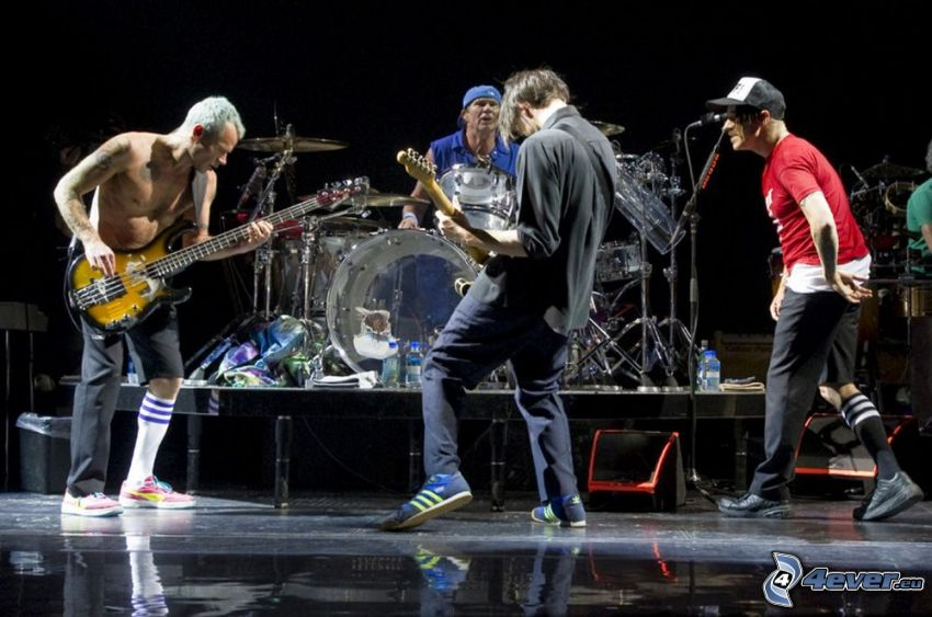 Red Hot Chili Peppers, konsert