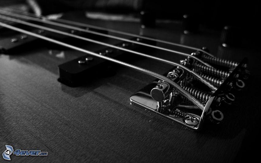 strängar, elgitarr