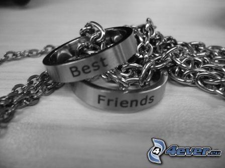 Best Friends, armband, kedja, accessoar