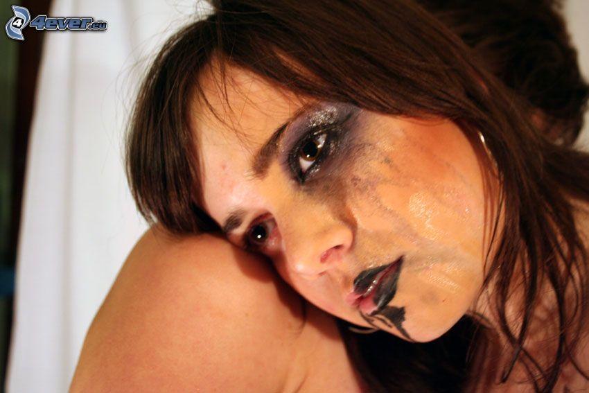 kvinnogråt, depression, sorg