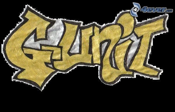 G-Unit, graffiti