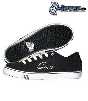 Adio, svarta sneakers