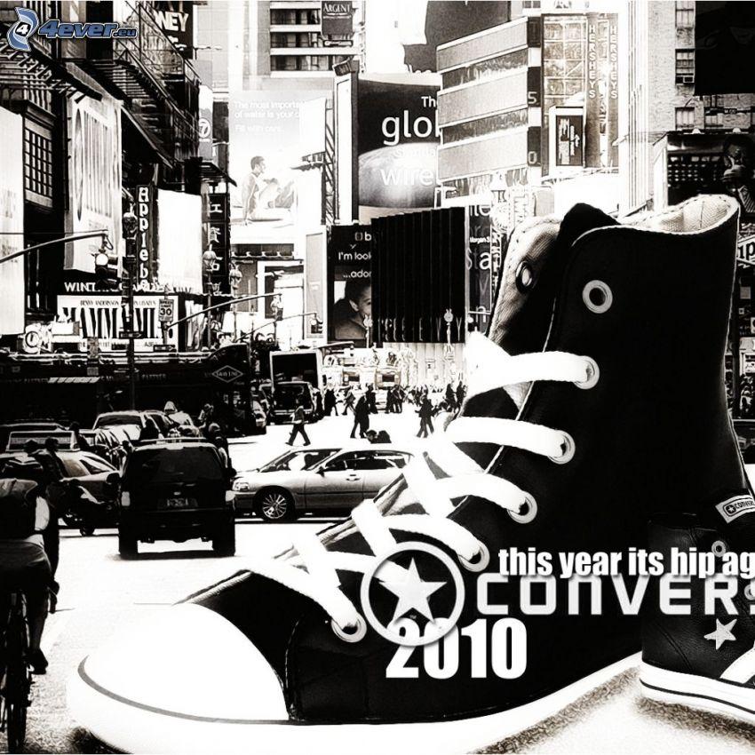 Converse, stad