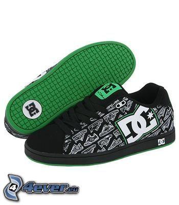 DC Shoes, svarta sneakers