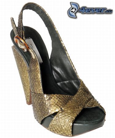 finskor, sko, klack