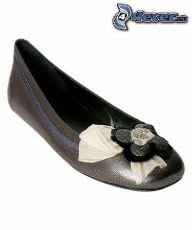 finskor, sko, rosett