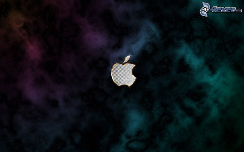 Apple, färggrann nebulosa