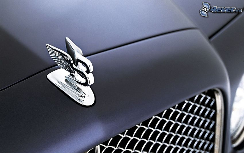 Bentley, tecken, frontgaller