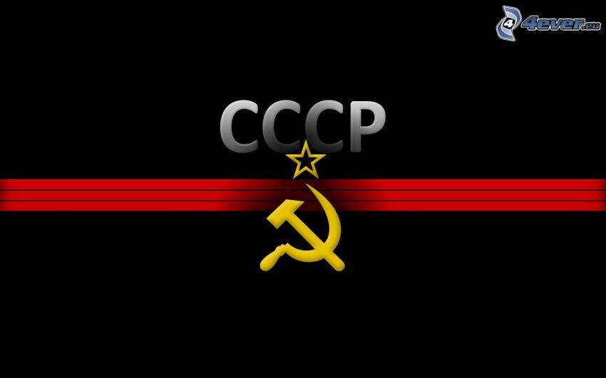 CCCP, lie och hammare