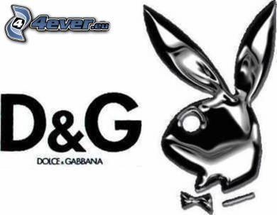 D&G, Playboy, Dolce & Gabbana, varumärke