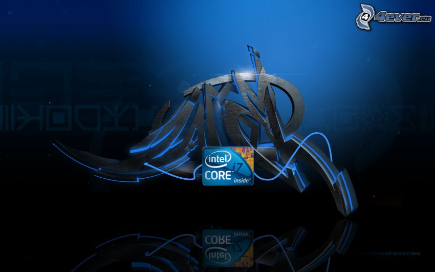Intel Core i7, graffiti