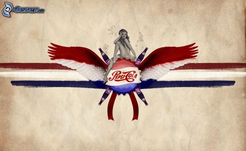 Pepsi, kvinna