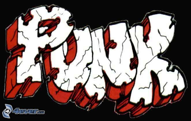 punk, graffiti