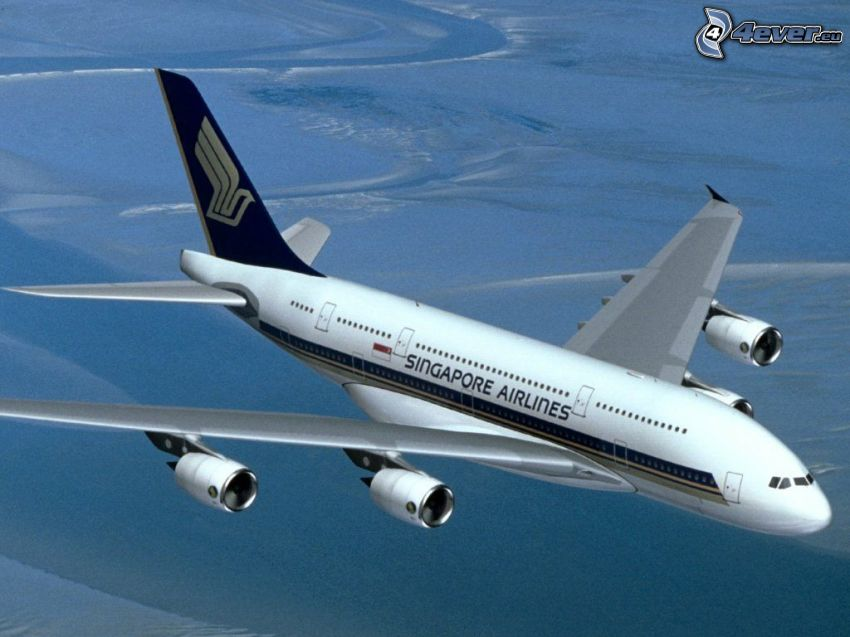 Airbus A380, Singapore Airlines, flygplan