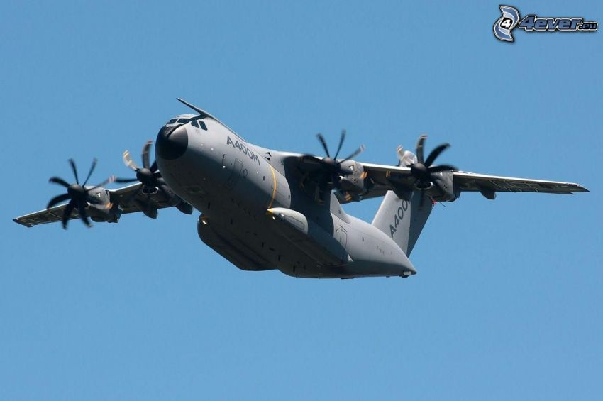 Airbus A400M, himmel