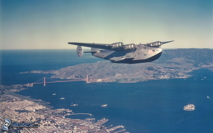 Boeing 314a, San Francisco, Golden Gate