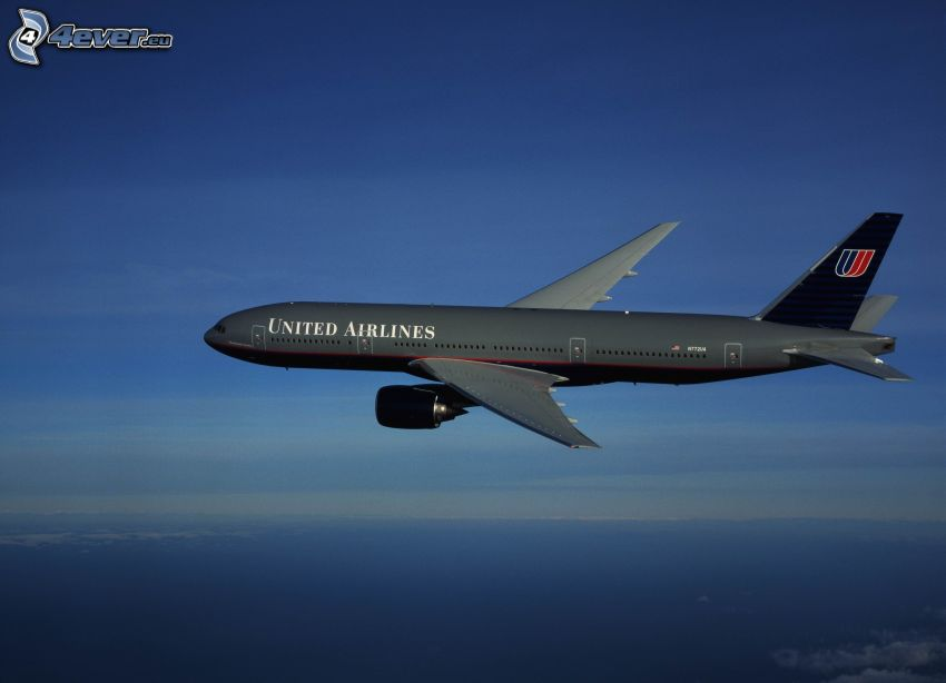 Boeing 777, United Airlines