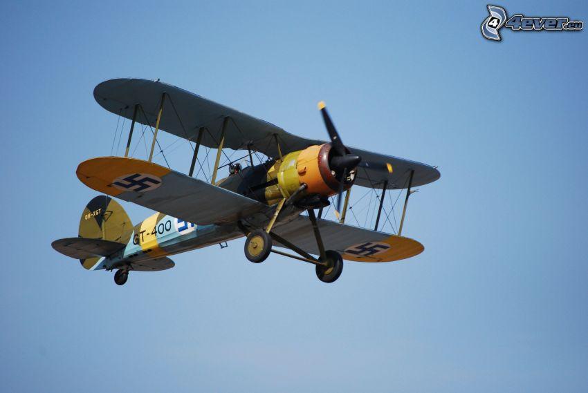 dubbelvingat flygplan