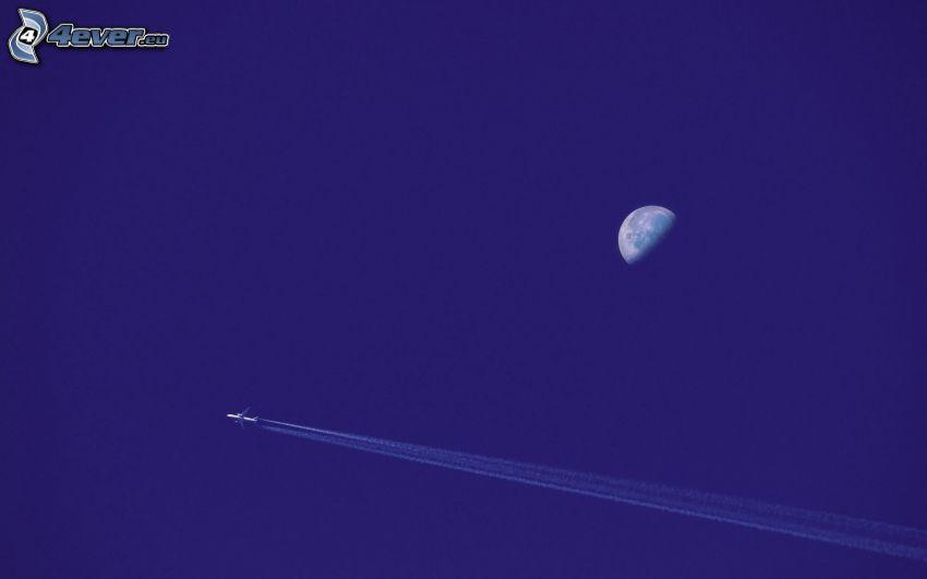 flygplan, planeten Jorden