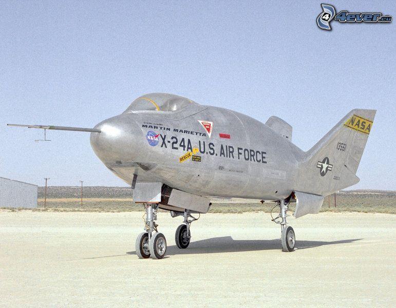 X-24A, USAF, flygplats, bas