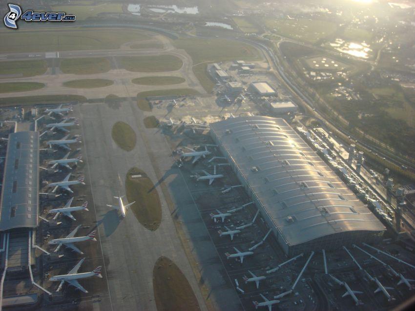 Heathrow, flygplats, London