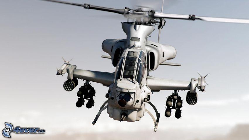 AH-1Z Viper, militär helikopter