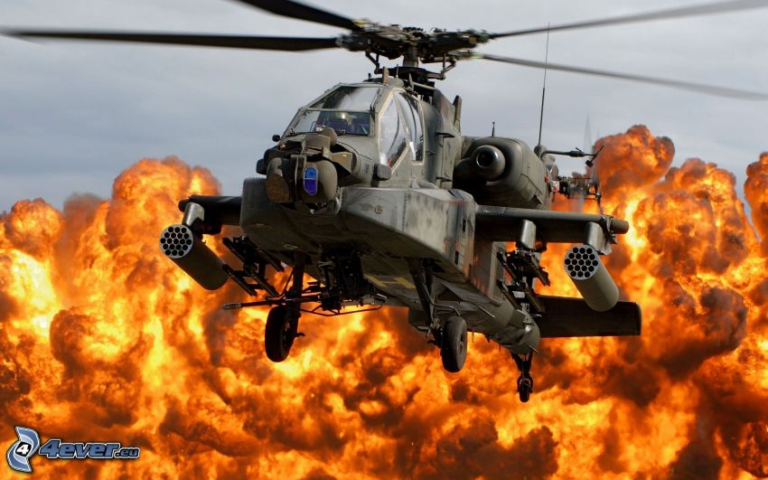 AH-64 Apache, eld
