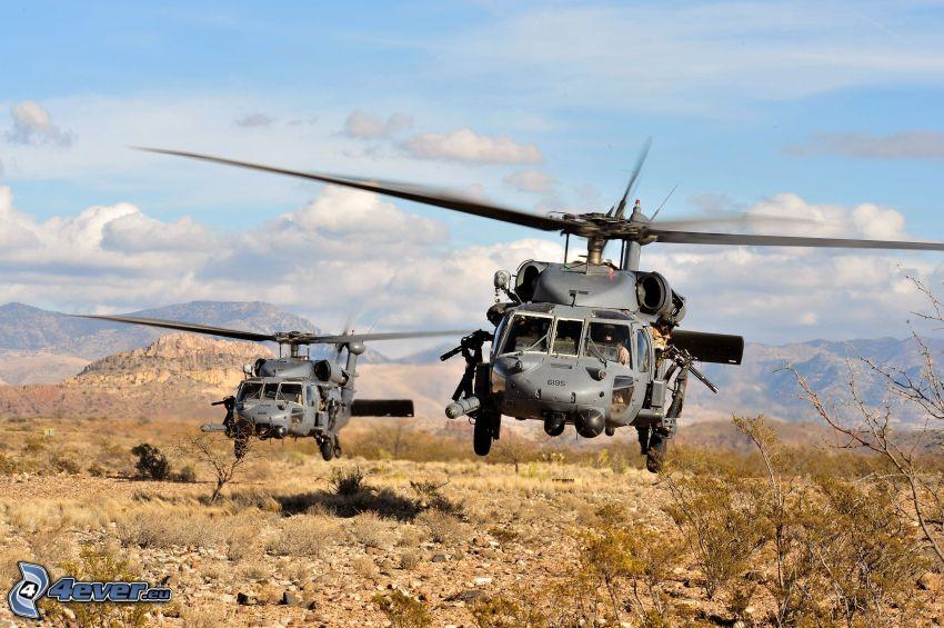 HH-60 Pave Hawk, militära helikoptrar