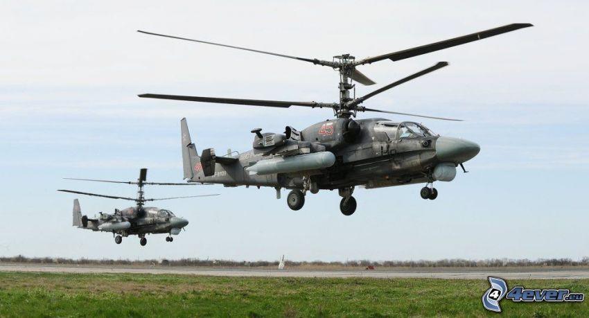 Ka-52, flygplats