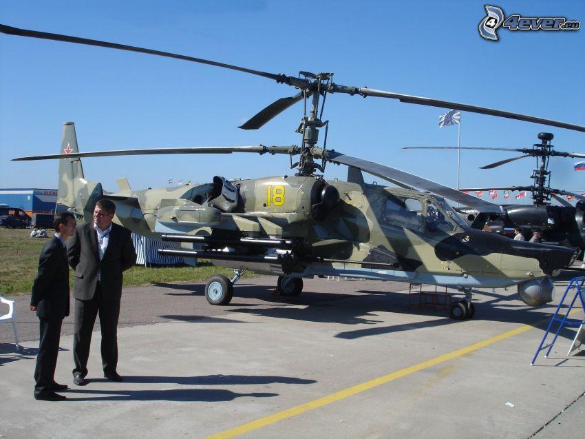 Kamov KA-50, militär helikopter