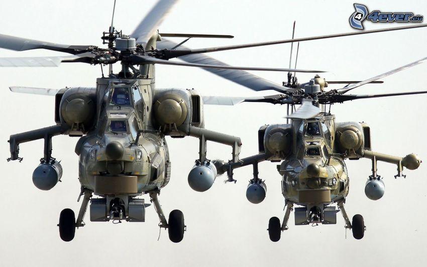 Mi-28 Havoc, militära helikoptrar
