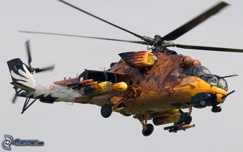 Mil Mi-24, örn