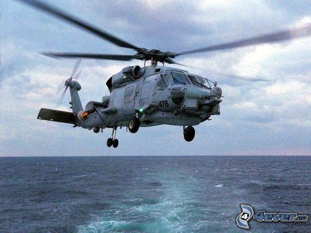 Sikorsky SH-60 Seahawk, U.S. Navy, militär helikopter