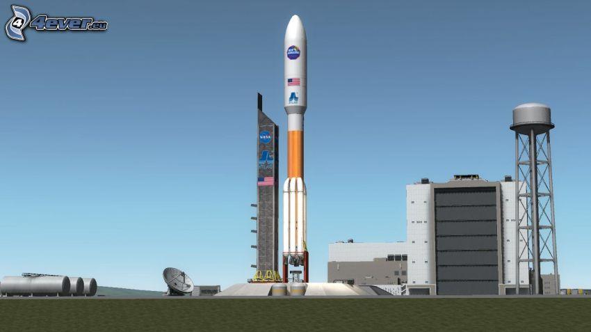 Atlas V, tecknat